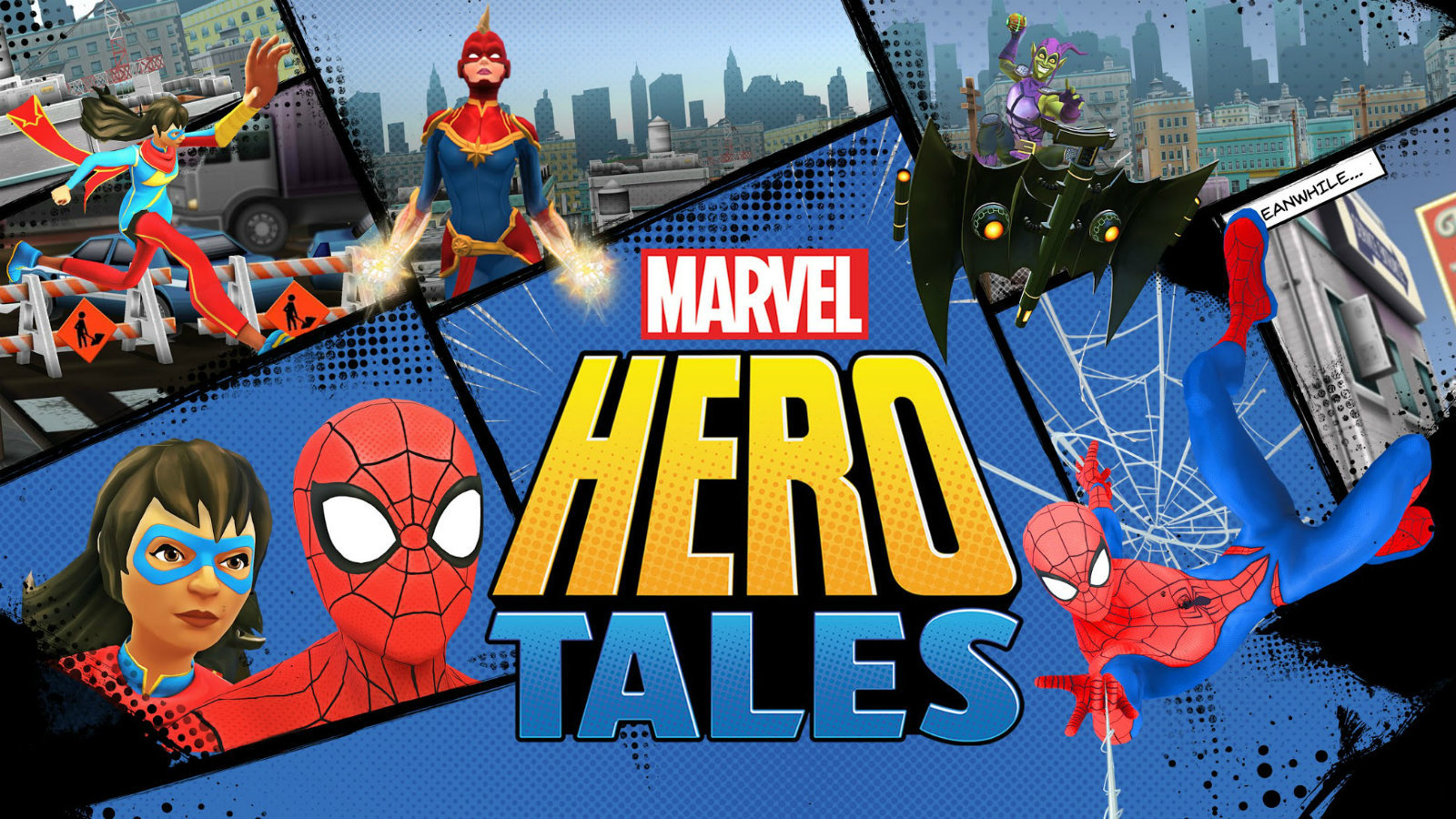 Marvel Hero Tales allows kids to learn to read by forming their own Superhero Stories