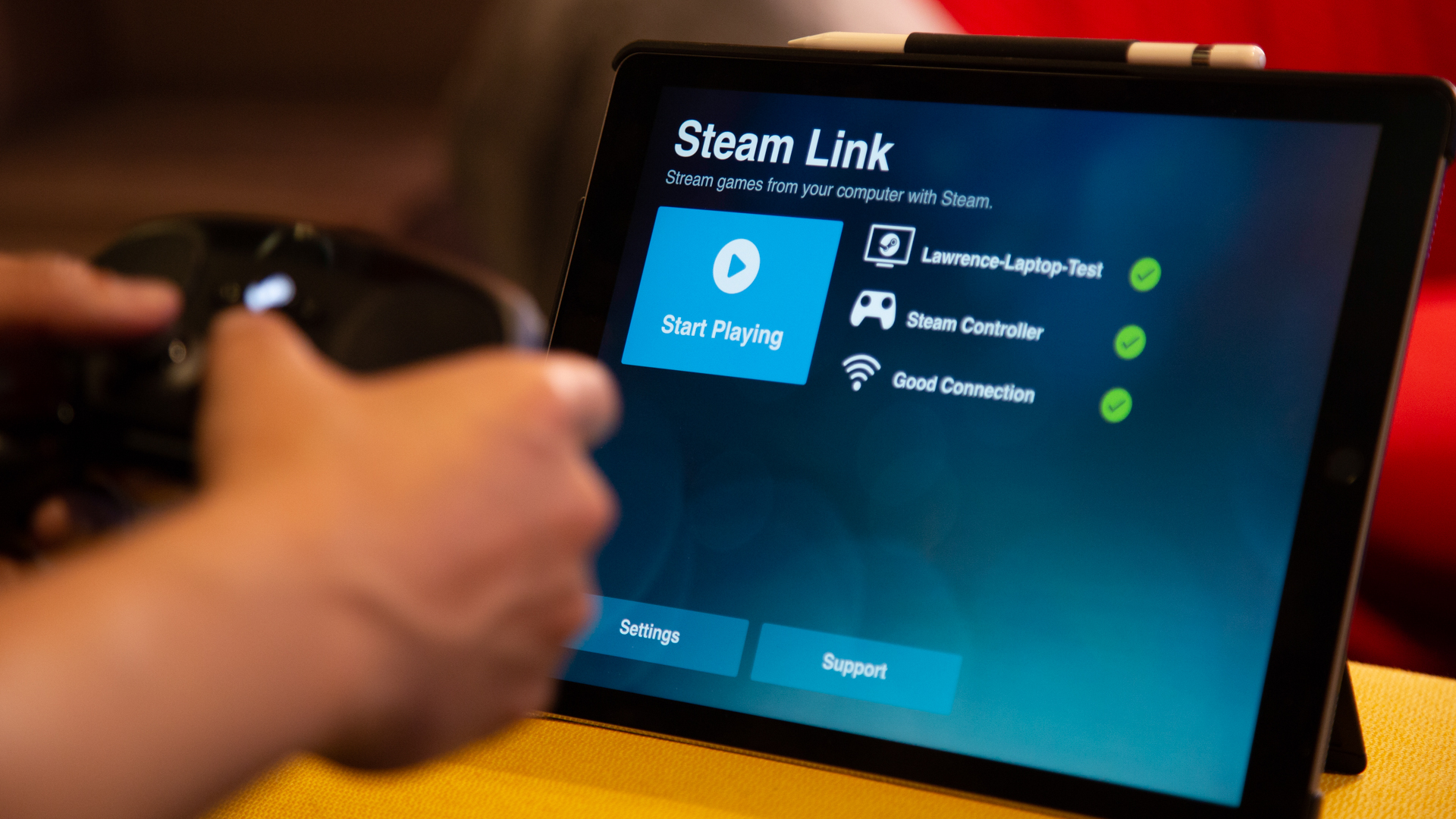 Steam Remote Play now allows you to play games Anywhere