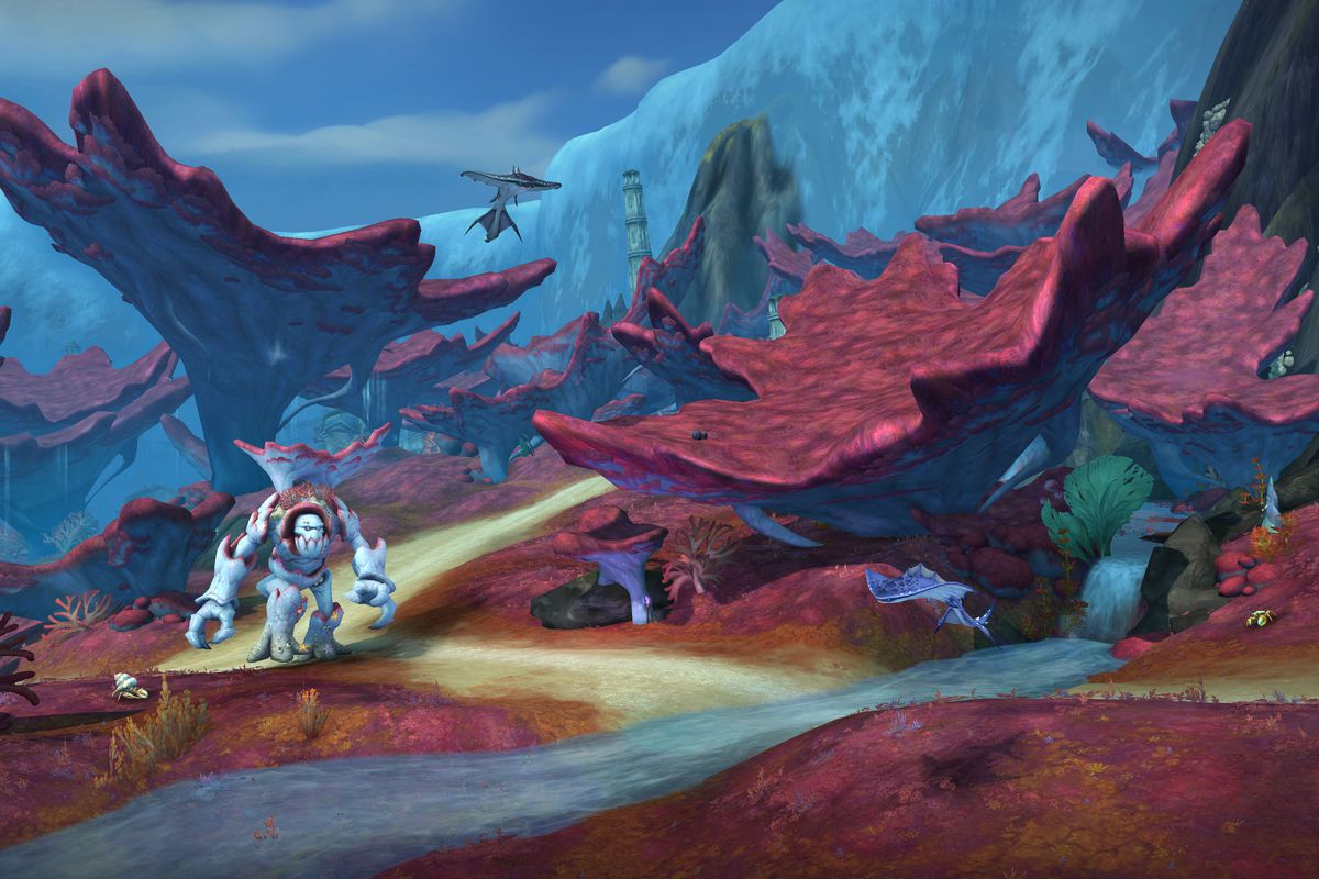 World of Warcraft's immense Rise of Azshara Update is now Live